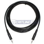 6 Feet 3.5mm Stereo Audio Male to Male Cable $0.89 Free Delivery First 500 Only