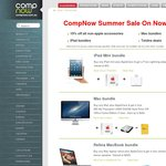 Computers Now Summer Sale on Now - iPad 2 Wi-Fi+3G 16GB/32GB/64GB at Cost $550/$619/$719