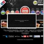 Domino's - 3 Pizzas, 2 Garlic Breads, 2 X 1.25l Coke - $33 Delivered