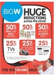 Huge Boxing Day Reductions Storewide at BIG W