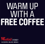 Free Coffee @ Pitt St Mall Sydney - 21/7 to 25/7 7am to 11am
