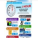 Wireless1 1 Hour Deal Bargain iPad Mini Retina Display 16G Wi-Fi $383 Delivered