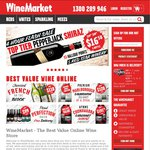 $25 off Minimum $60 Spend at Wine Market