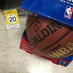 Clearance - SPALDING NBA GOLD Series Basketball (Size 7) $20 @Kmart (RRP $50)