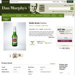 Stella Artois Stubbies (330mL) - $37 case of 24 @ Dan Murphy's TODAY ONLY