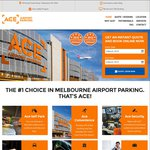 1 Day Free (No Minimum Stay) Melbourne Airport Parking @ Ace Airport Parking - Until 28th March