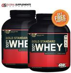 2x Optimum Nutrition 100% Whey Gold Standard 5LB (2.27kg) = $135.92 Delivered @ Global Supplements eBay