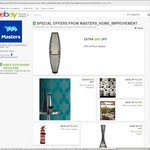 [Masters eBay] 20% off Lamps, Wallpaper, Outdoor Blinds and More