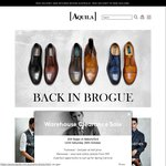20% off Aquila Online Shop (GQ Online Shopping Night) - Ends Midnight Tonight 28th Oct