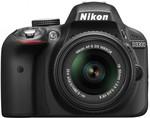 Nikon D3300 DSLR with Lens Kit $299 after $100 Cashback + $25 HN Signup @ Harvey Norman