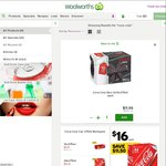 Coca-Cola Varieties 20 Cans for $11.99 at Woolworths (60c/can)