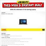 Alienware 15 R2 Gaming Laptop $1998 (with $500 Coupon Code) @ JB Hi-Fi