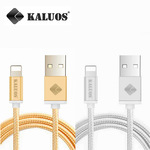 iOS KALUOS Lightning to USB Cable 20cm Silver (AU $1.07) Shipped @ AliExpress