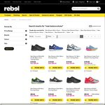 50% off All New Balance Shoes @ Rebel Sport