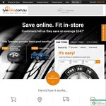 Tyresales.com.au $65 Coupon off Any Order of 4 Tyres
