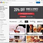 20% off Wines & Spirits @ Grays-Online, Crackawines, Boutique Cellar, Wine Market and GoodDrop-AU @ eBay
