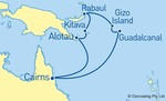 Twin Share Papua New Guinea & Solomon Islands Cruise from Cairns (10 Nights) for $778.05 @ Ozcruising (Departs Sat 24/9)