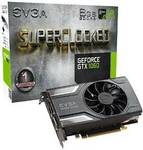 EVGA GTX 1060 SC GAMING 6GB, USD $257.71/~AUD $349.62 Expedited Shipped @ Amazon