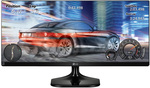 """29"""" LG 29UM58-P UltraWide 2560x1080 IPS Monitor $299 (+Delivery or Free Pickup QLD) @Computer Alliance"""