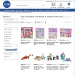 20% off Hot Wheels, Shopkins and Selected Fisher Price Toys @ Big W