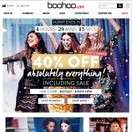 40% off Absolutely Everything at Boohoo