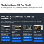 Free Dreamlight 3D Training - Sunlight Mastery Video Course (for DAZ Studio Software)