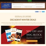 Lindt 100g Block $2.10, ½ Price Pick & Mix Boxes, 50% off Lindor, 30% off Hot Beverages + More @ Lindt Outlets (from 5/6 to 1/8)