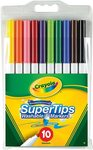 Crayola 10 Pack SuperTips Washable Markers $3.5 @ Target ( RRP $7)