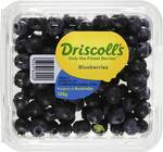 Driscolls Blueberry Fresh 125g Punnet Now on Special for $2.50 @ Woolworths