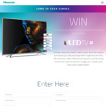 "Win 1 of 3 Hisense 55"" Series 7 ULED TVs Worth $2,499 from Hisense"