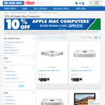 10% off Apple Mac Computers @ The Good Guys