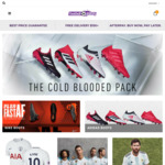20% off all Football boots | Nike & Adidas |  Free Delivery $150 @ Football Galaxy