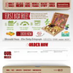 Free First Box of Mixed Nut/Fruit ($7.95) Delivered @ Harvest Box (New Members)