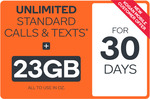 23GB Prepaid Voucher $0.99 @ Kogan Mobile (30 Days, New Customers)