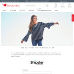 Free 12 Month Shipster Subscription from Birdsnest