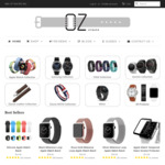 20% off Storewide + Free Express Shipping over $20 @ OzStraps