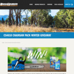 Win a Bushranger Chainsaw Pack Worth Over $400 from Bushranger