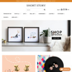 30% off Sitewide - Origami Art, Jewellery and Other Giftwares @ Short Story (Free Shipping with $75+ Spend)