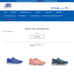 ASICS Gel Kayano 24 Now $149.95, Save $110 and FREE Shipping – Limited to One Pair Per Person at Jim Kidd Sports