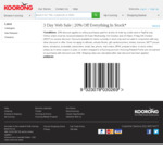 20% off Sitewide @ Koorong