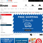 Free Shipping Sitewide with No Minimum Spend @ House (Items from $0.60)