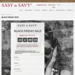 50% off Sitewide @ Sasynsavy
