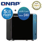 QNAP TS-453BE 4 Bay NAS for $590.75 + $80 Wish Gift Card via Redemption @ Device Deal eBay