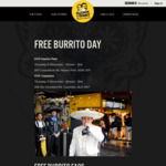 [QLD] Free Burrito Tuesday (11/12) from 12PM-7PM @ Guzman y Gomez (Capalaba)