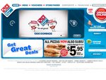 Dominos's Traditional or Value Range Pizza from $3.95 (Classic Crust only) - Bundaberg QLD