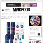 Win 1 of 5 Nivea Everyday Active Prize Packs Worth $41.52 from MiNDFOOD