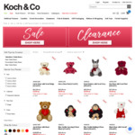 Flash Sale - 70% Off Valentine's Soft Toys + Delivery @ Koch & Co