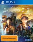 [PS4] Shenmue 1&2 $19 + Delivery (Free with Prime/ $49 Spend) @ Amazon AU