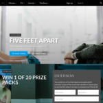 Win 1 of 20 Five Feet Apart Novel & Double Pass Prize Packs Worth $60.99 from Roadshow