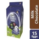 Dairy Milk Chocolate 15 Pack Easter Eggs $4.50 @ Coles
